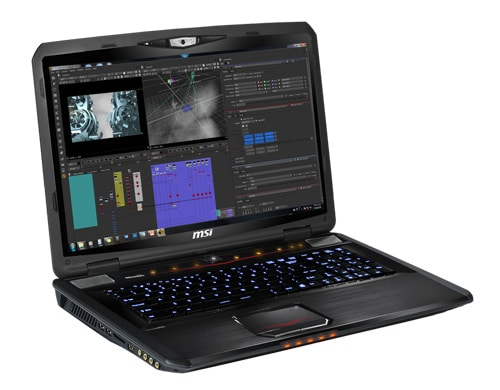 """<span class=""""tagtitre"""">CES 2014 - </span>MSI dévoile sa nouvelle génération de portables : Radeon R9, Quadro, Haswell, RAID, Full HD"""