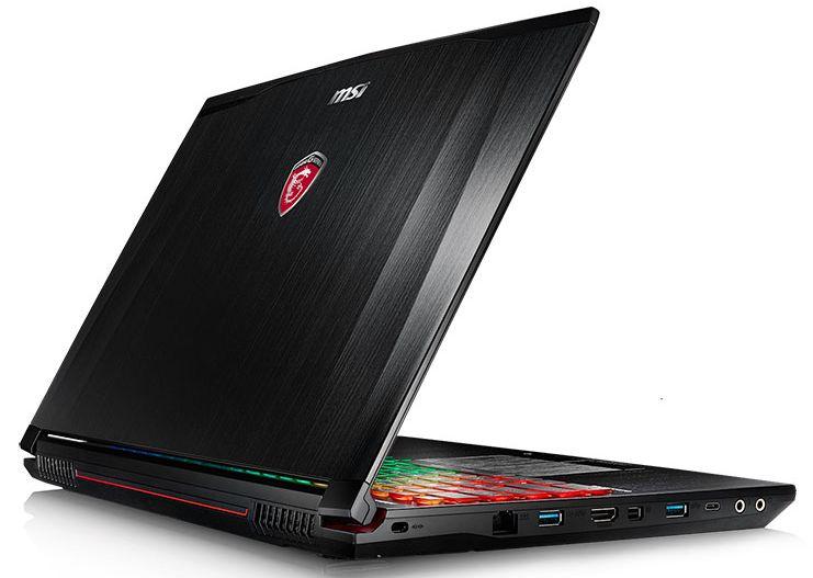 MSI GE62 6QF-004, PC portable 15 pouces Full HD mat Skylake 1849€