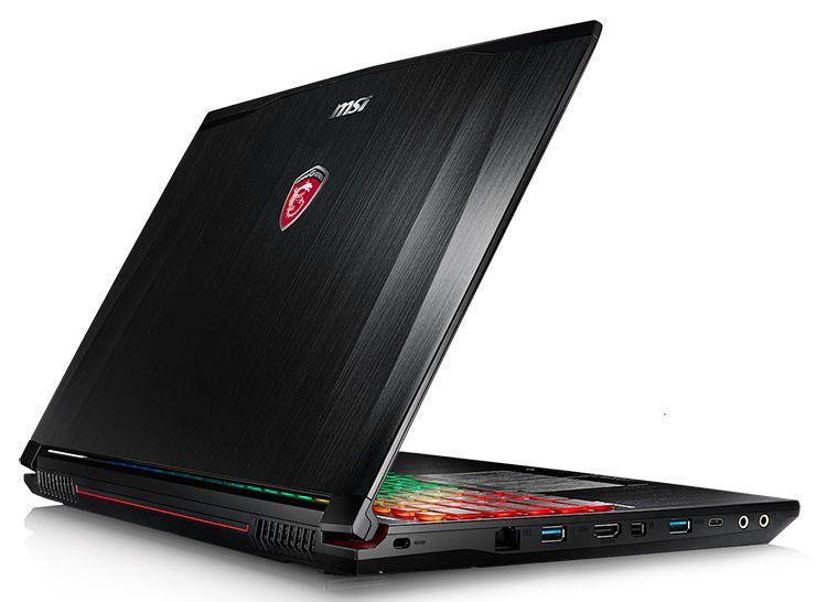 MSI GE62 6QF-207, PC portable 15 pouces 4K IPS 970M SSD Quad i7 promo 1599€