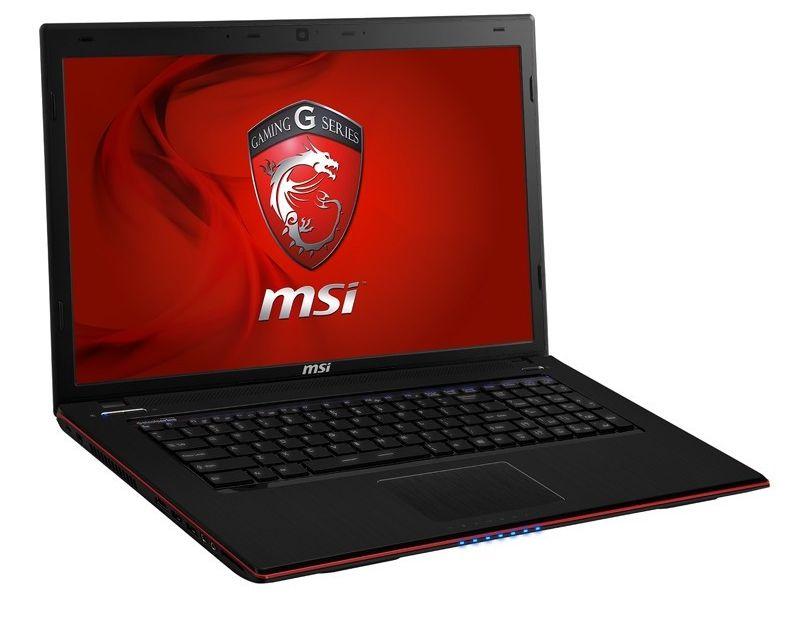 "MSI GE70 2OC-007 à 1099€, 17.3"" Full HD mat Haswell : Core i7, GT 750M, 750 Go 7200tr"