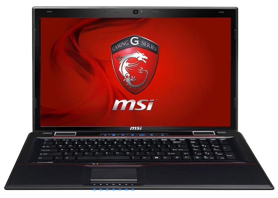 """MSI GE70 2OC-250, 17.3"""" mat polyvalent avec Core i5 Haswell, GT 750M, 1 To 7200tr à 819€"""