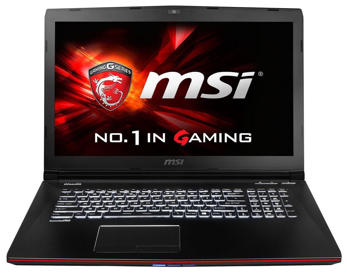 MSI GE72 2QC-296, PC portable 17 pouces Full HD mat à 949€