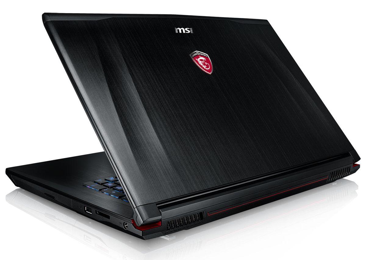 MSI GE72 2QE-219, PC portable 17 pouces Full HD mat SSD promo 1324 euros