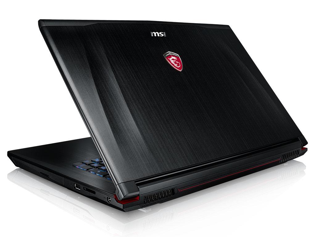 MSI GE72 6QF-011, PC portable 17 pouces Full HD mat IPS Skylake promo 1549€