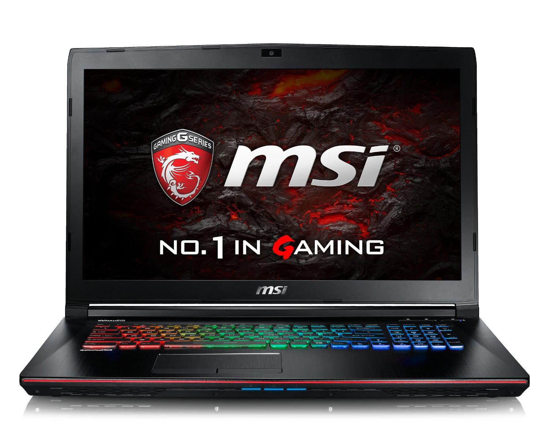 MSI GE72VR, nouveau PC portable 17 pouces Full IPS GTX 1060 Quad SSD