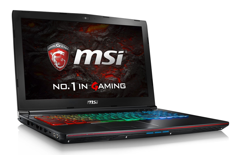 MSI GE72VR 6RF-092, PC portable 17 pouces GTX 1060 SSD i5 16 Go promo 1399€