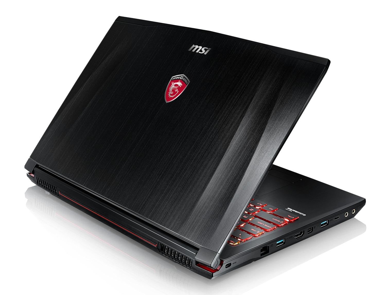 MSI GE72VR 6RF-239X, PC portable 17 pouces IPS GTX 1060 Quad i5 (999€)