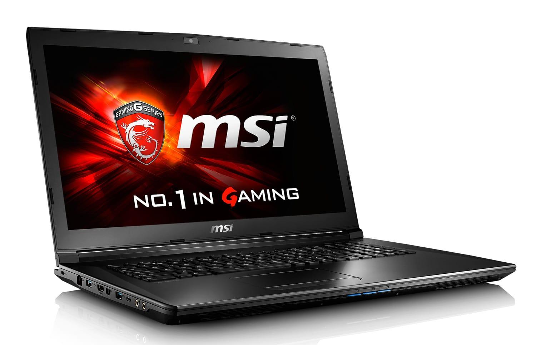 MSI GL72 7QF-1031XFR, PC portable 17 pouces Quad Kaby Lake GTX (658€)