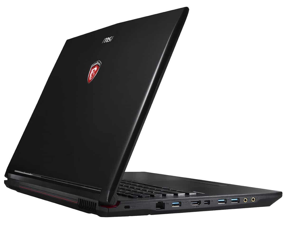 MSI GP72 2QD-018, PC portable 17 pouces Full HD mat à 1019€