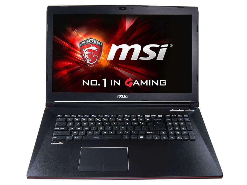 MSI GP72 2QD-208 en vente flash à 764€, PC portable 17 pouces Full HD mat