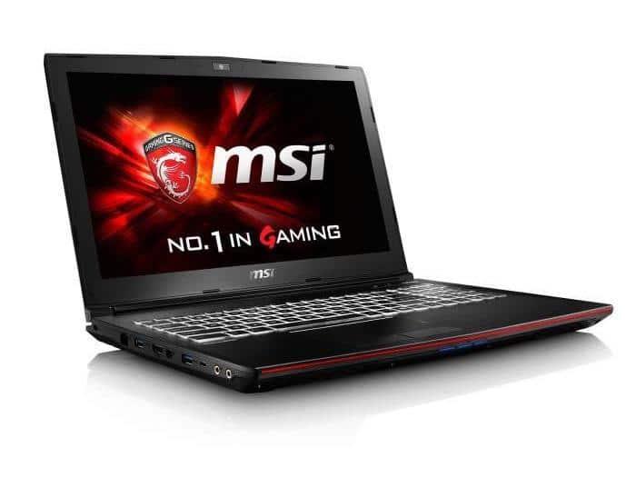 MSI GP72 6QF-647, PC portable 17 pouces SSD 512 GTX Quad i7 promo 999€