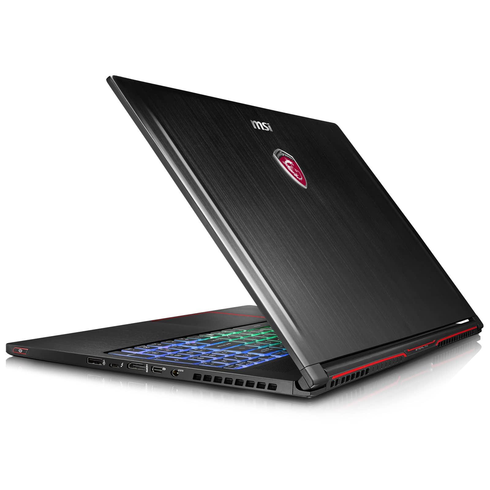 "MSI GS63VR 6RF-018, Ultrabook 15""GTX 1060 SSD512+2To16 Go (1699€)"