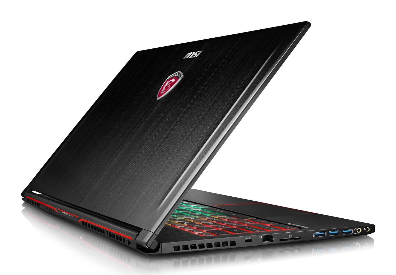 MSI GS63VR 7RF-262, ultrabook 15 pouces 4K GTX 1060 SSD 512+2To à 2199€