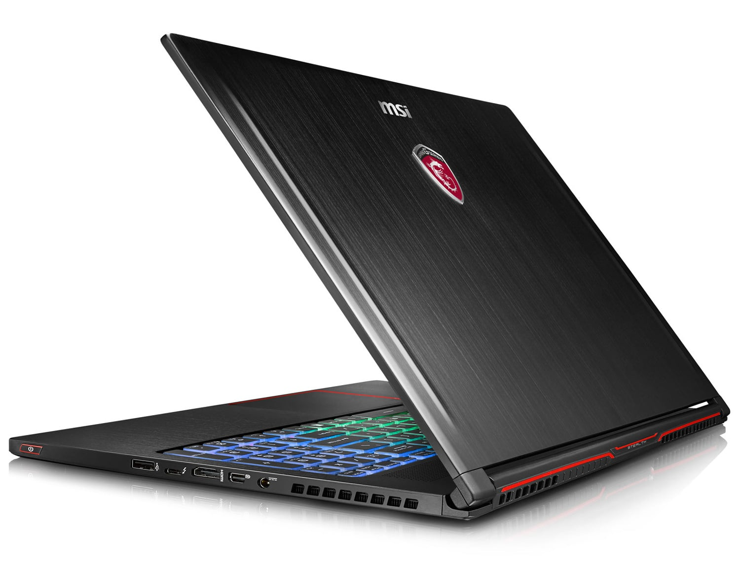 """MSI GS63VR 7RF-263, Ultrabook 15"""" GTX 1060 SSD 256 Go+2 To Kaby 1795€"""