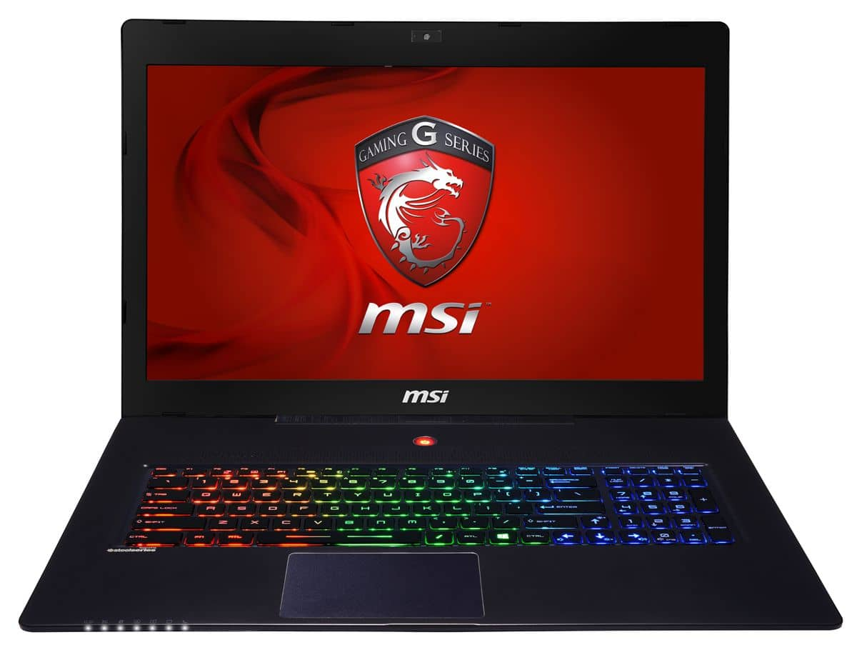 """MSI GS70 2OD-086, 17.3"""" Full HD mat à 1549€: GTX 765M, 16 Go, Core i7 Haswell, SSD 256 Go + 1 To 7200tr"""