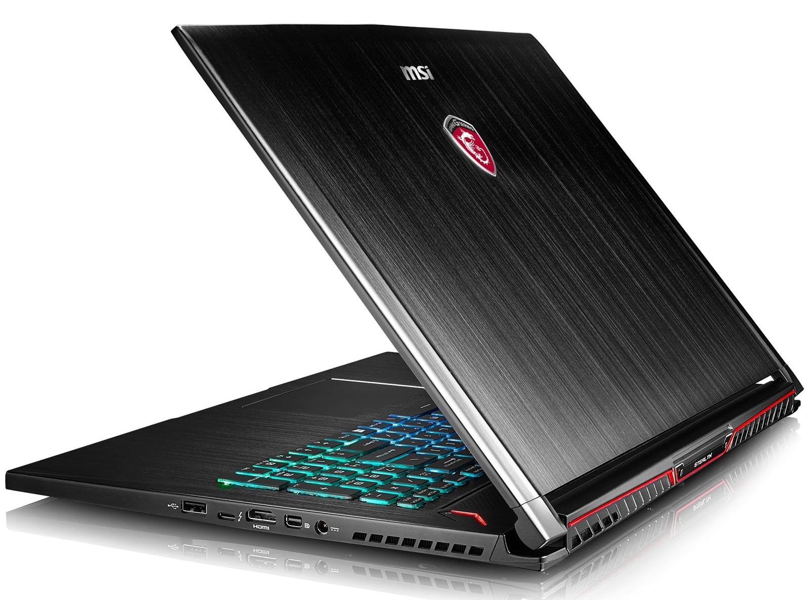 MSI GS73VR 6RF-015, Ultrabook 17 pouces IPS GTX 1060 SSD i7 16 Go 2049€