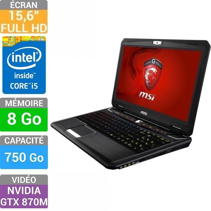 "<span class=""toptagtitre"">Bon Plan999€ ! </span>MSI GT60 2PC-691XFR à 1099€, 15.6"" Full HD mat sans OS : GTX 870M, Core i5 Haswell, 8 Go"