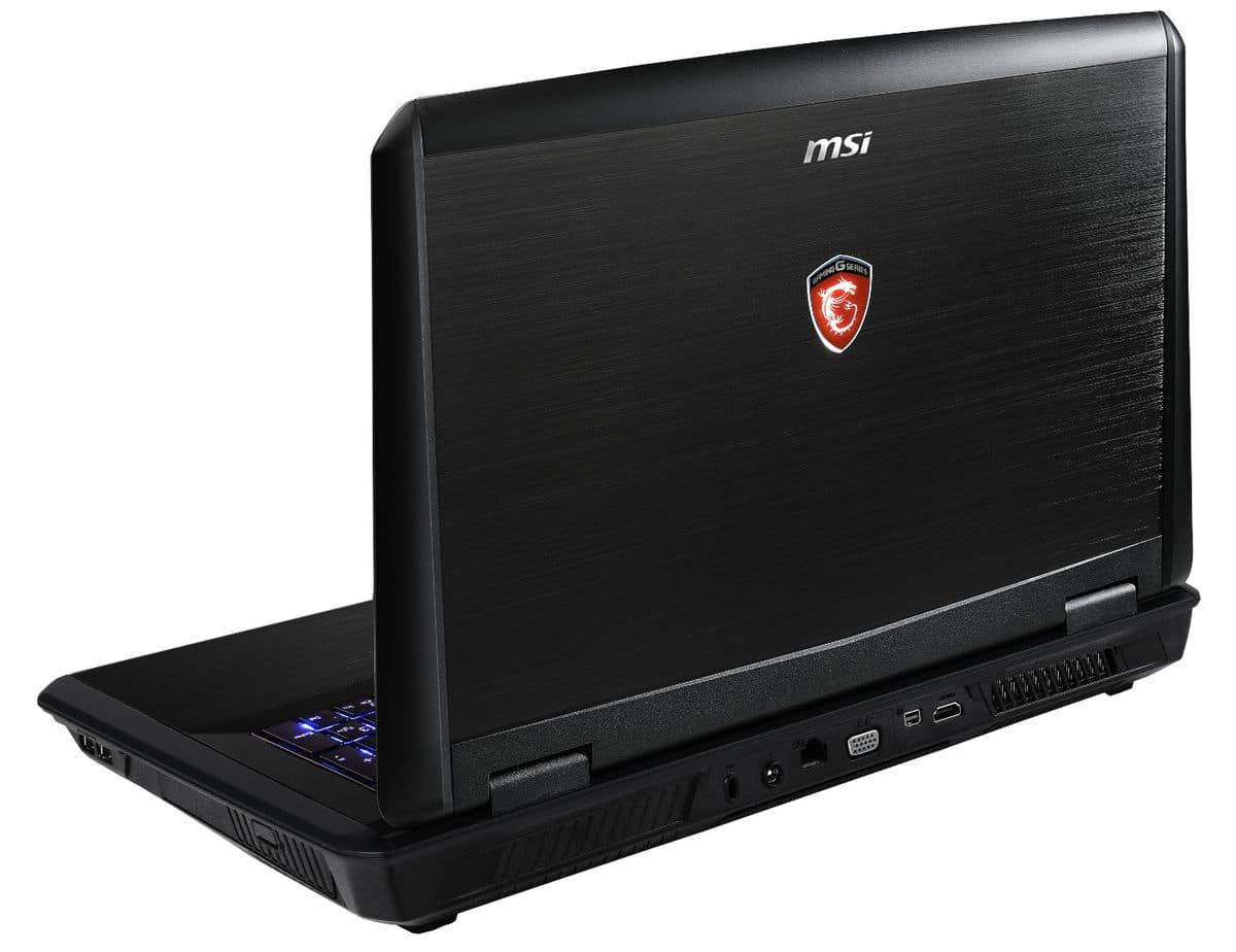 """MSI GT70 2PC-1052 Dominator, 17.3"""" Full HD mat: GTX 870M, i7 Haswell, 16 Go, SSD 128 Go+1 To 7200tr, 1699€"""