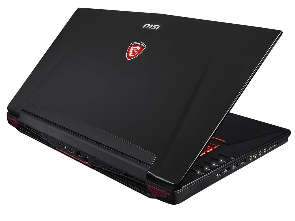 MSI GT72 2QD-1016X, PC portable 17 pouces joueur à 1499€