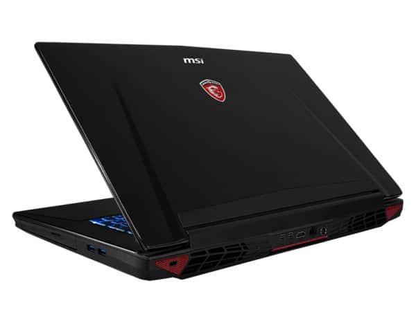 MSI GT72 2QD-1651, PC portable 17 pouces Full HD mat à 1699€