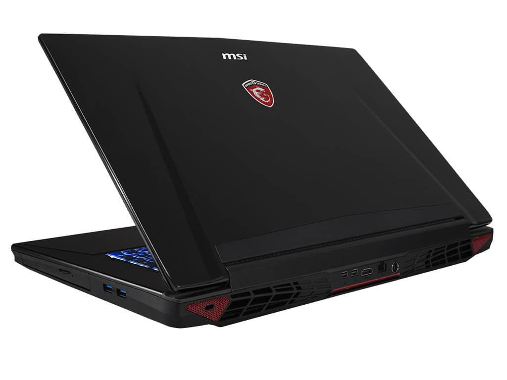 MSI GT72 2QD-659, PC portable 17 pouces Full HD mat gamer à 1453€