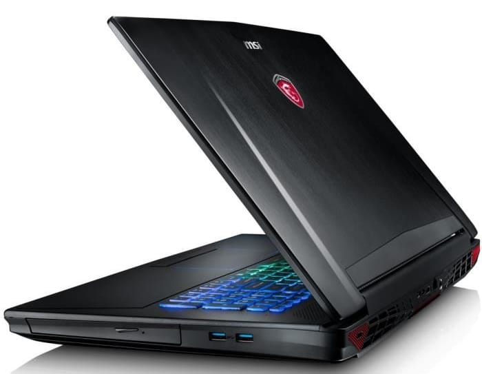 MSI GT72VR 6RD-061, PC portable 17 pouces GTX 1060 SSD256 i7 16Go 1979€