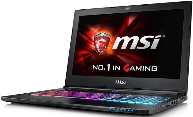 "<span class=""tagtitre"">IFA 2015 - </span>MSI présente ses nouveaux PC portables gamer Skylake SSD"