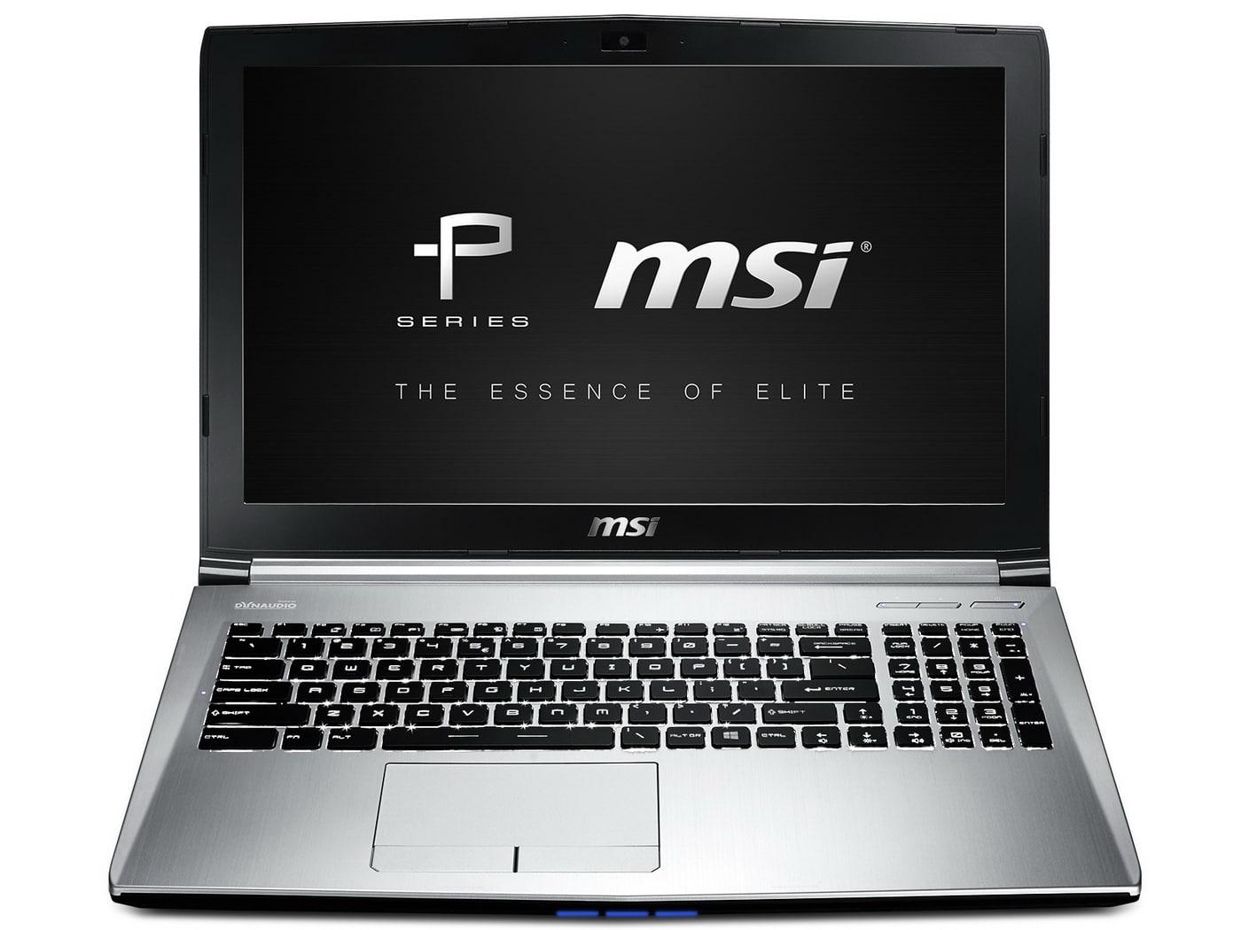 MSI dévoile les PE60 et PE70, des PC portables sobres et performants