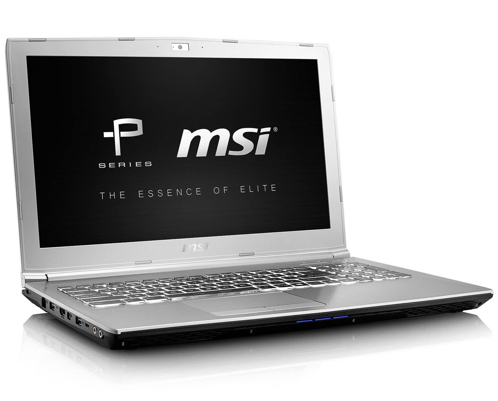 Revue de presse des tests publiés sur le Web (MSI Prestige PE60 7RD)