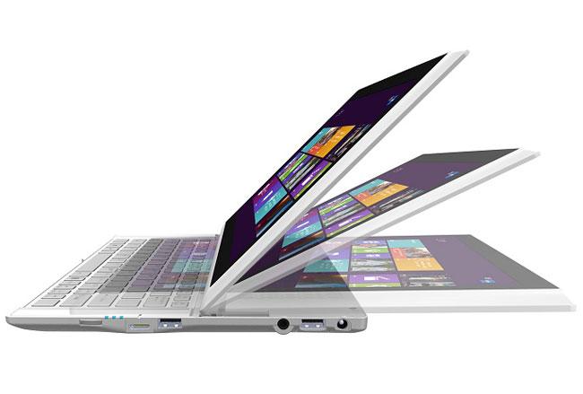 "<span class=""toptagtitre""><del>Soldes 599€ ! </span>MSI Slidebook S20 0M-010 à 989€, 11.6"" Full HD mat tactile/Tablette : Core i5, SSD 128 Go, 1.2 Kg</del>"