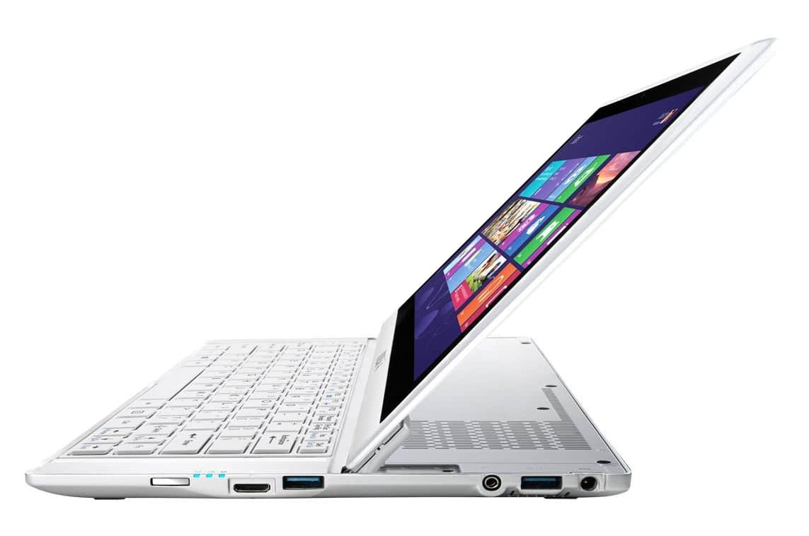 "MSI Slidebook S20 2M-043, 11.6"" Full HD tactile mat/Tablette à 799€ : SSD 128 Go, Ivy Bridge, 1.2 Kg"