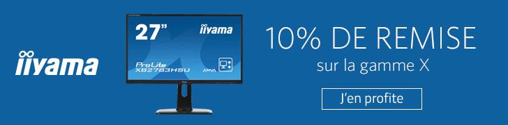 """<span class=""""tagtitre"""">Bon Plan - </span>10% de remise sur des écrans PC Iiyama X chez Materiel.net"""