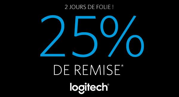 """<span class=""""tagtitre"""">Bon Plan - </span>25% de remise sur les périphériques Logitech chez Materiel.net"""