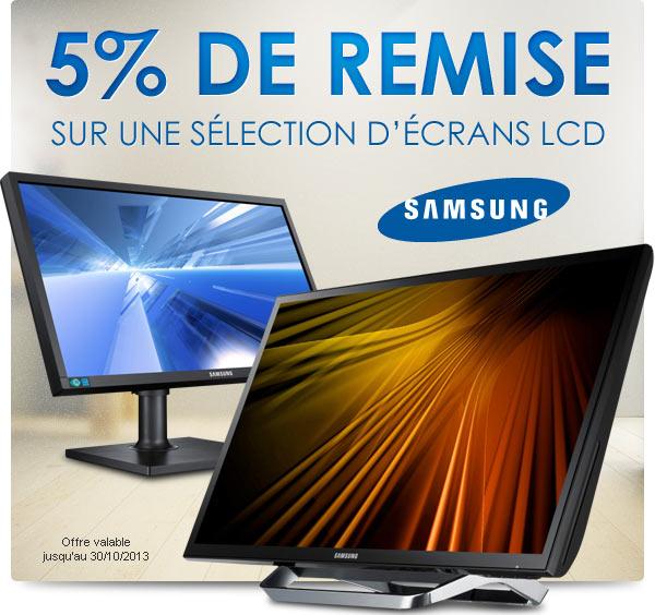 """<span class=""""tagtitre"""">Bon Plan - </span>5% de remise sur les moniteurs Samsung chez Materiel.net"""