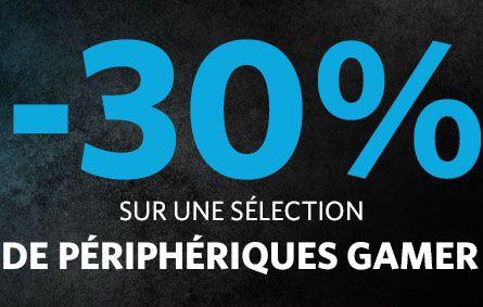 """<span class=""""tagtitre"""">Bon Plan - </span>30% de remise immédiate sur les périphériques gamer Logitech"""
