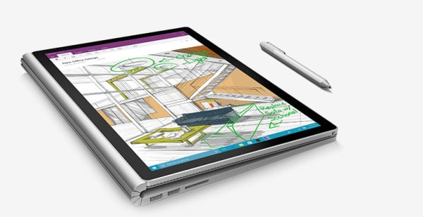 Microsoft Surface Book tablette
