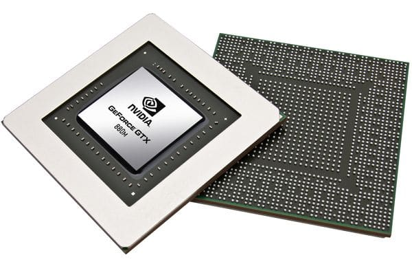 Nvidia officialise ses cartes graphiques mobiles Geforce 800M, de la 820M à la GTX 880M
