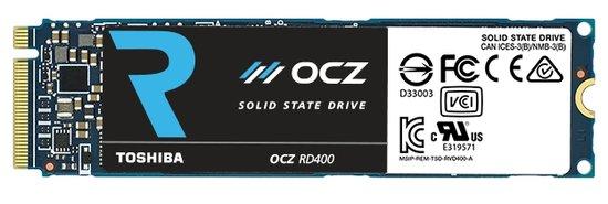 OCZ RD400, un nouveau SSD M.2 NVMe PCIe x4 performant de 128 Go à 1 To