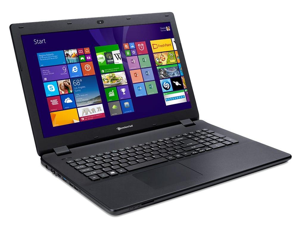 Packard Bell EasyNote LG71BM-C0VY à 399€, PC portable 17 pouces basique