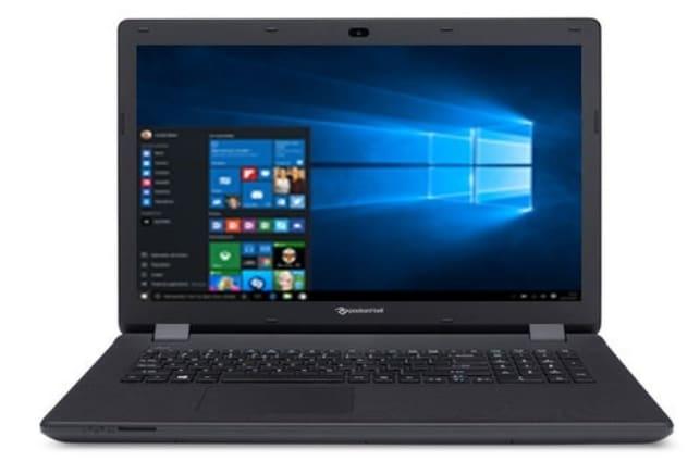 Packard Bell EasyNote LG81AP-C36P à 379€, PC portable 17 pouces Apollo Lake