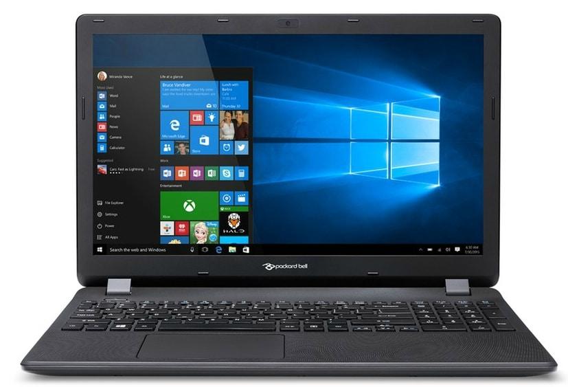 Packard Bell EasyNote TE70BH-31BB à 399€, PC portable 15 pouces Core i3 noir