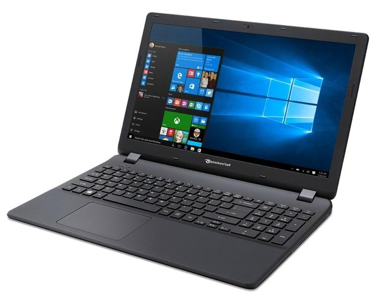 Packard Bell EasyNote TE70BH-345J à 399€, PC portable 15 pouces noir Core i3