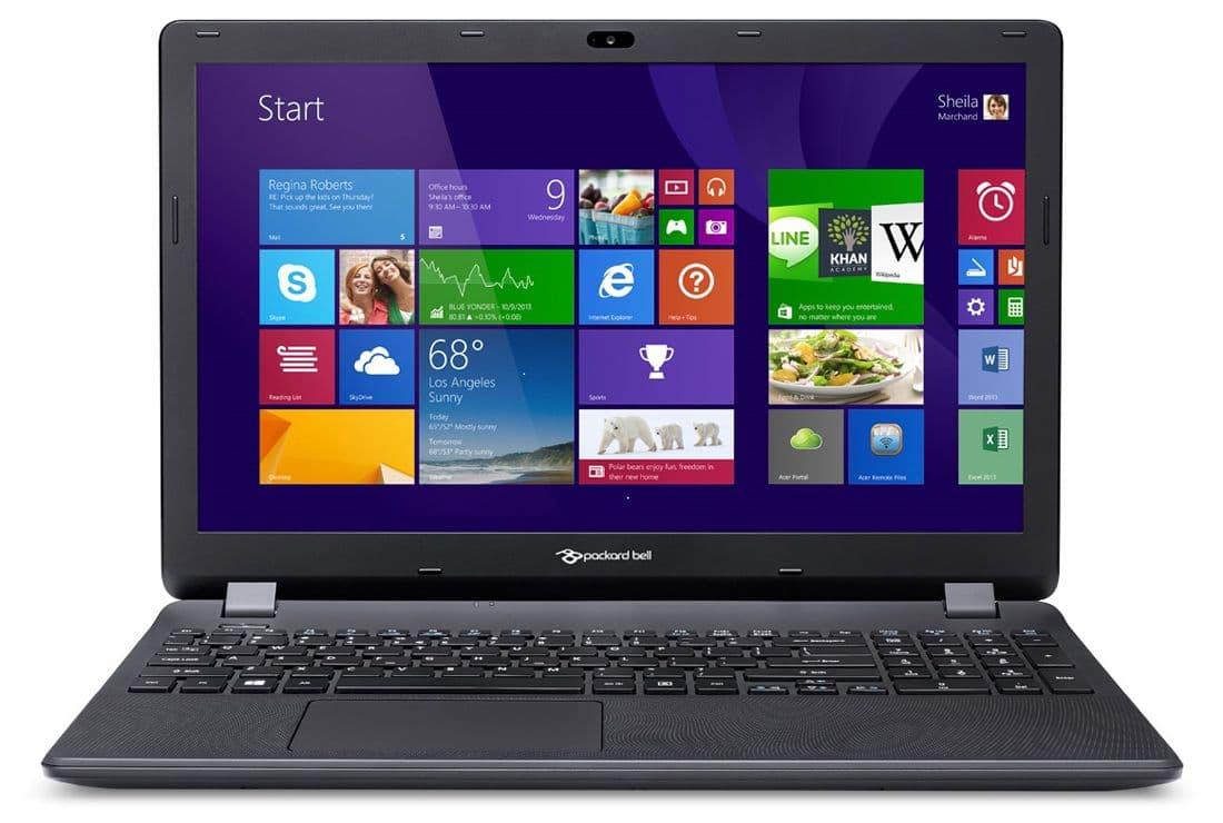 Packard Bell EasyNote TG71BM-C3ZA à 299€, PC portable 15 pouces basique