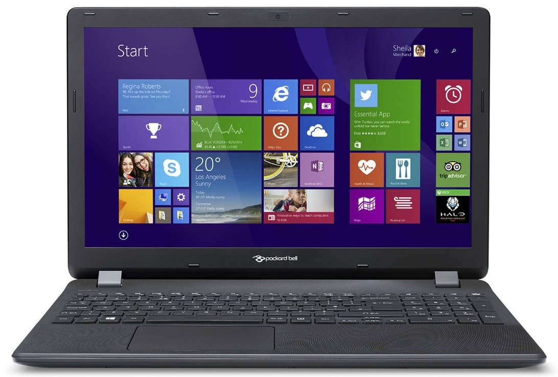 Packard Bell EasyNote TG81BA-C2NQ à 399€, PC portable 15 pouces Braswell