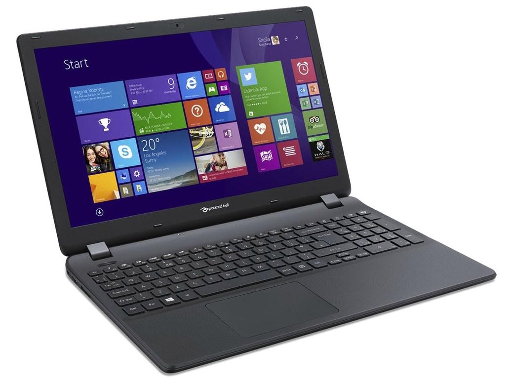 Packard Bell EasyNote TG81BA-C8R7 à 349€, PC portable 15 pouces basique