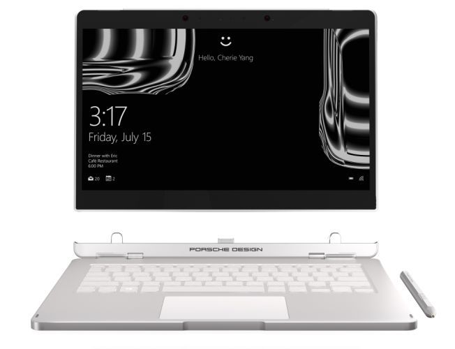 "<span class=""tagtitre"">MWC 2017 - </span>Porsche Design Book One, Ultrabook 2-en-1 Tablette Kaby Lake"