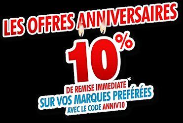 """<span class=""""toptagtitre"""">Bon Plan ! </span>10% de remise immédiate chez Rue du Commerce"""
