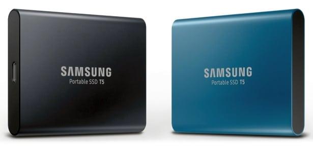 Samsung Portable SSD T5, nouveau SSD externe de 250 Go à 2 To