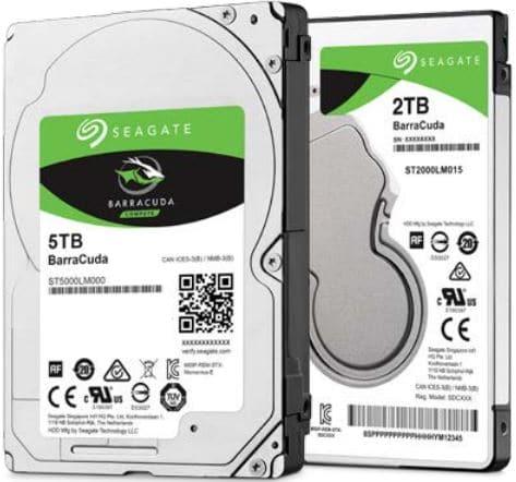 Seagate annonce un disque dur BarraCuda 2.5 pouces de… 5 To !