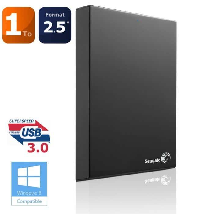 """<span class=""""tagtitre"""">Bon Plan - </span>disque dur externe Seagate Expansion 1 To en USB 3.0 et 2.5"""" à 79€ !"""